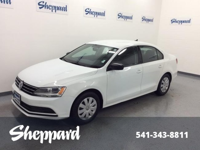 2016 Volkswagen Jetta 1.4T S w/Technology Manual Sedan