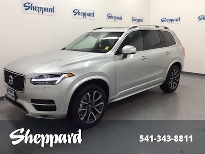New 2019 Volvo XC90 SUV Bright Silver For Sale in Eugene OR