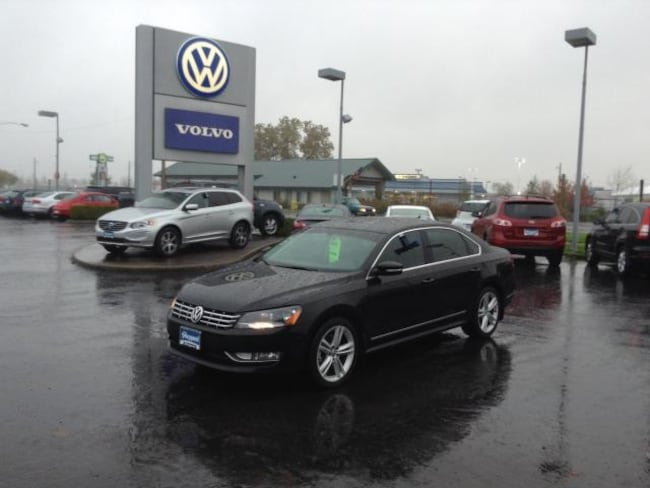 used 2013 Volkswagen Passat 2.0L TDI SEL Premium Sedan in Eugene, OR
