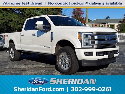2019 Ford F-250SD Limited Truck Crew Cab