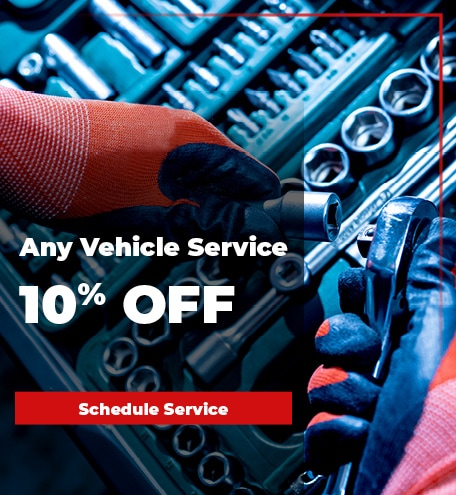 10% off vehicle service