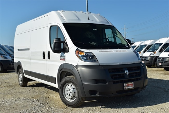 New 2018 Ram ProMaster 3500 CARGO VAN HIGH ROOF 159 WB Cargo Van for sale in Skokie, IL at Sherman Dodge Chrysler Jeep RAM ProMaster
