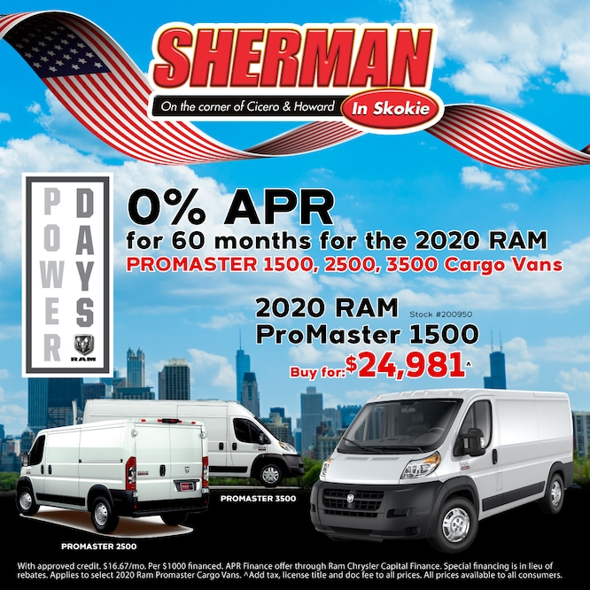 0% APR for 60 Months on Select Vehicles