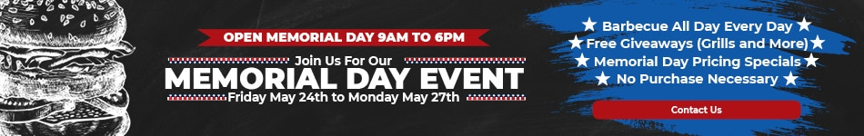 Join Us For Our Memorial Day Event