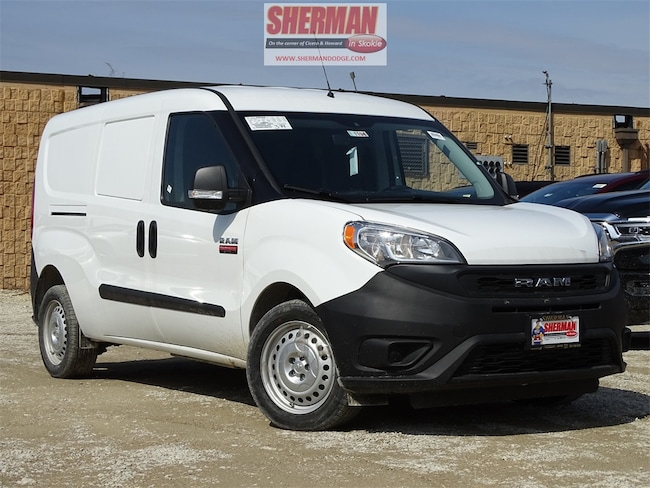 New 2019 Ram ProMaster City TRADESMAN CARGO VAN Cargo Van for sale in Skokie, IL at Sherman Dodge Chrysler Jeep RAM ProMaster