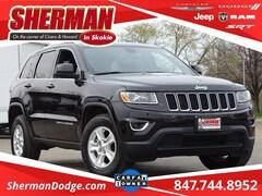 2015 Jeep Grand Cherokee Laredo SUV 1C4RJFAG7FC128794 for sale in Skokie, Illinois at Sherman Dodge Chrysler Jeep RAM ProMaster