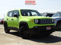 2018 Jeep Renegade SPORT 4X4 Sport Utility for sale in Skokie, IL at Sherman Dodge Chrysler Jeep RAM ProMaster