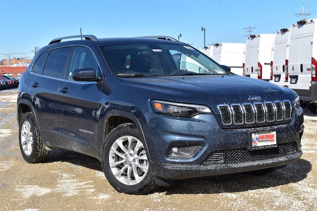 New 2019 Jeep Cherokee LATITUDE FWD Sport Utility for sale in Skokie, IL at Sherman Dodge Chrysler Jeep RAM ProMaster
