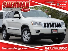 2011 Jeep Grand Cherokee Laredo SUV 1J4RR4GG6BC712855 for sale in Skokie, Illinois at Sherman Dodge Chrysler Jeep RAM ProMaster
