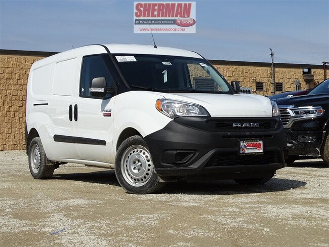 New 2019 Ram ProMaster City TRADESMAN CARGO VAN Cargo Van for sale in Skokie, IL at Sherman Dodge Chrysler Jeep RAM ProMaster