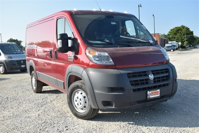 New 2018 Ram ProMaster 1500 CARGO VAN LOW ROOF 136 WB Cargo Van for sale in Skokie, IL at Sherman Dodge Chrysler Jeep RAM ProMaster