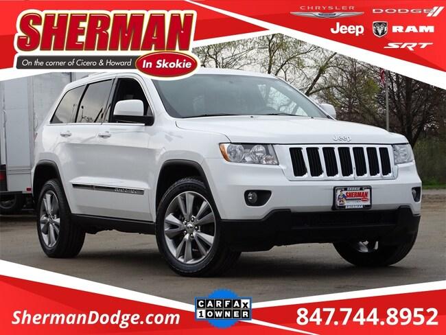 Used 2013 Jeep Grand Cherokee Laredo SUV for sale in Skokie, IL at Sherman Dodge Chrysler Jeep RAM ProMaster