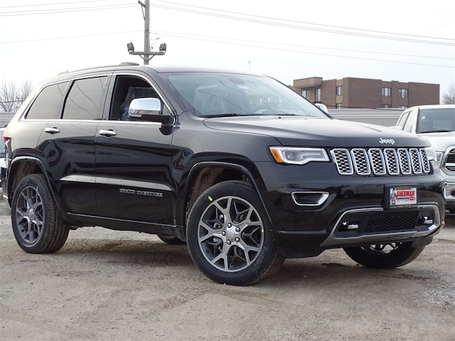 New 2019 Jeep Grand Cherokee OVERLAND 4X4 Sport Utility for sale in Skokie, IL at Sherman Dodge Chrysler Jeep RAM ProMaster