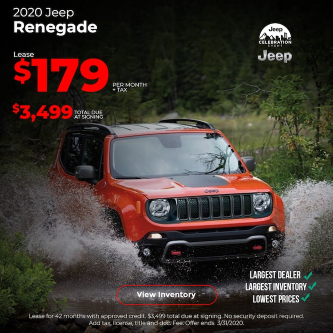 2020 Jeep Renegade Special Mobile