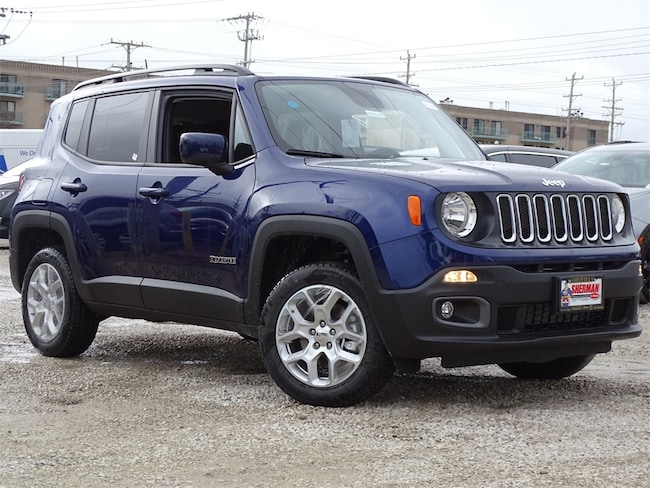 New 2018 Jeep Renegade LATITUDE 4X4 Sport Utility for sale in Skokie, IL at Sherman Dodge Chrysler Jeep RAM ProMaster