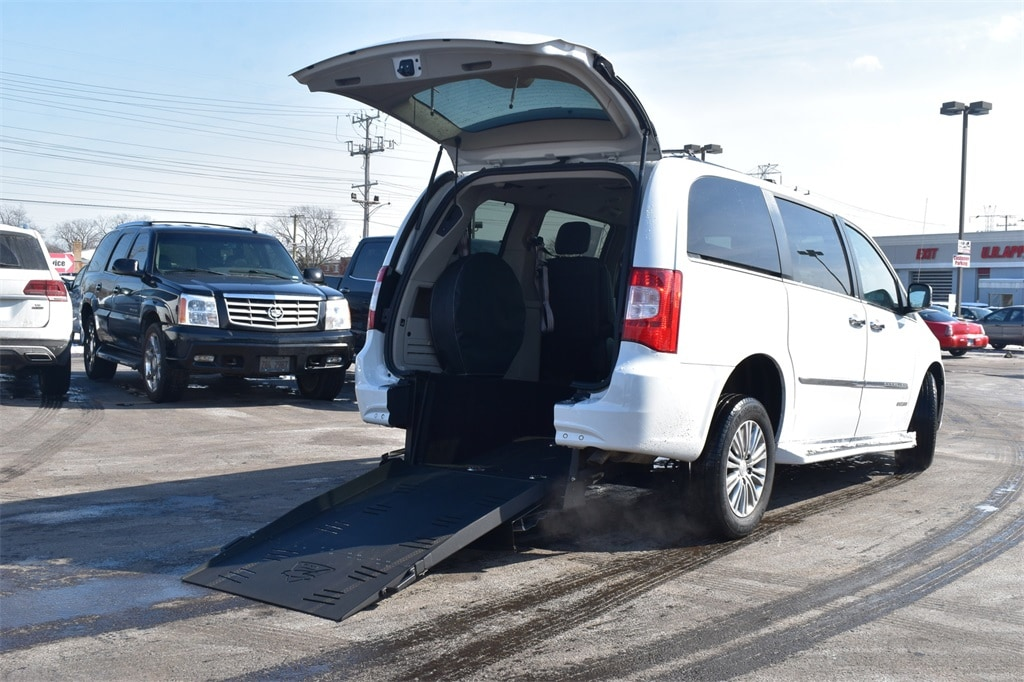 2014 Chrysler Town & Country Touring-L Mobility Rear Entry Van