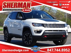 2019 Jeep Compass Trailhawk SUV 3C4NJDDB8KT627847 for sale in Skokie, Illinois at Sherman Dodge Chrysler Jeep RAM ProMaster