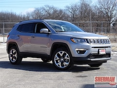 2019 Jeep Compass Limited SUV 3C4NJDCB2KT620653 for sale in Skokie, Illinois at Sherman Dodge Chrysler Jeep RAM ProMaster