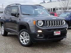 2018 Jeep Renegade LATITUDE 4X4 Sport Utility for sale in Skokie, IL at Sherman Dodge Chrysler Jeep RAM ProMaster