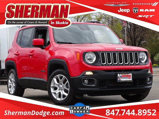 Used 2017 Jeep Renegade Latitude SUV for sale in Skokie, IL at Sherman Dodge Chrysler Jeep RAM ProMaster