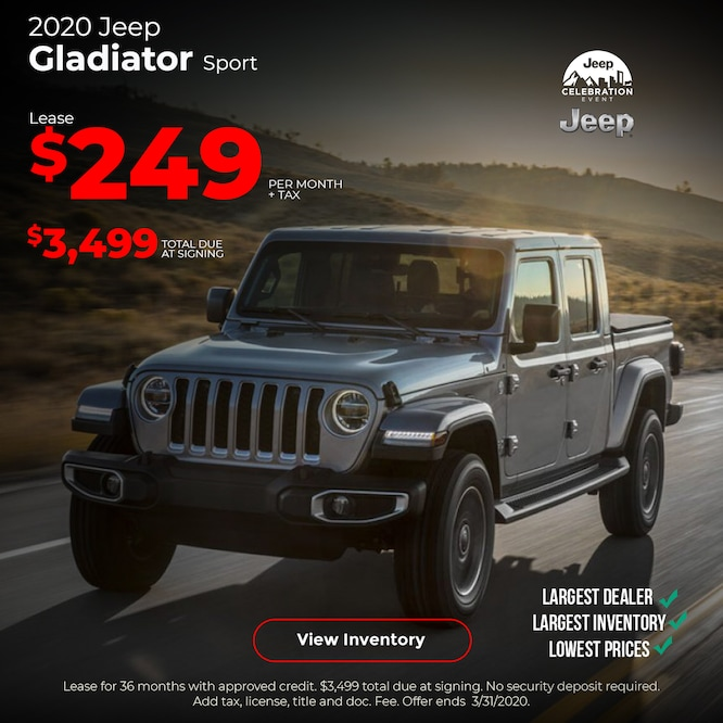 2020 Jeep Gladiator Special Mobile