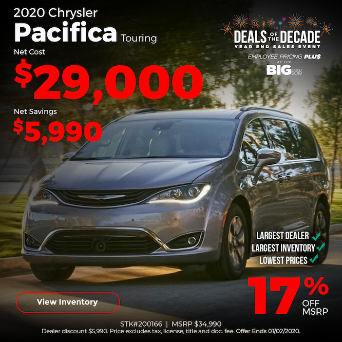 2020 Chrysler Pacifica Special