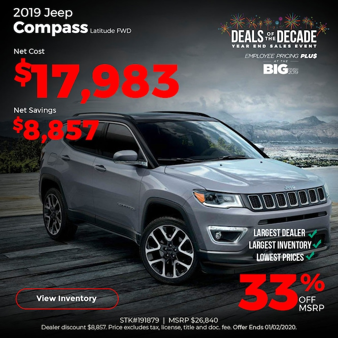 2019 Jeep Compass Special
