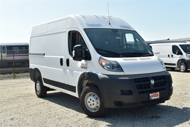 New 2018 Ram ProMaster 1500 CARGO VAN HIGH ROOF 136 WB Cargo Van for sale in Skokie, IL at Sherman Dodge Chrysler Jeep RAM ProMaster