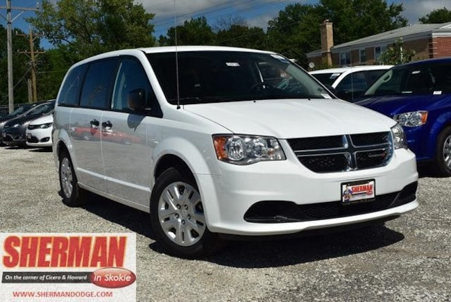 New 2019 Dodge Grand Caravan SE Passenger Van for sale in Skokie, IL at Sherman Dodge Chrysler Jeep RAM ProMaster