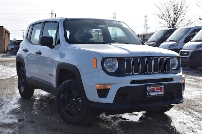 New 2019 Jeep Renegade SPORT 4X4 Sport Utility for sale in Skokie, IL at Sherman Dodge Chrysler Jeep RAM ProMaster