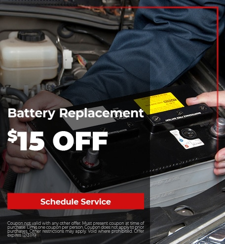 Battery Special 9/25/2019