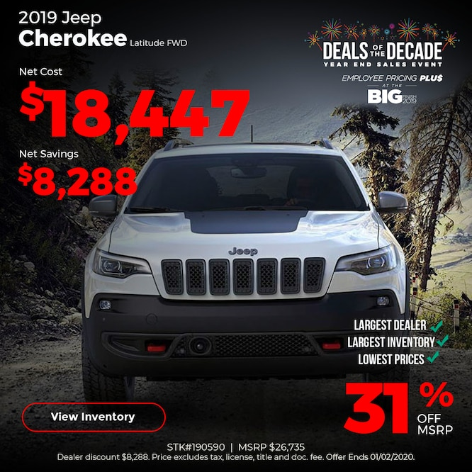 2019 Jeep Cherokee Special