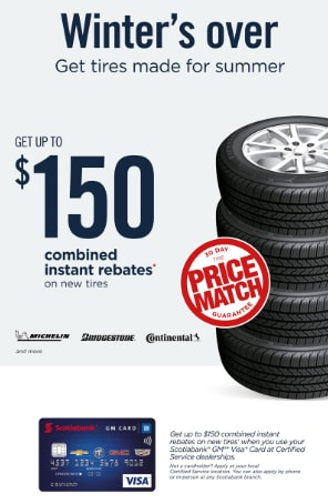 Up to $150 Combined Instant Rebates