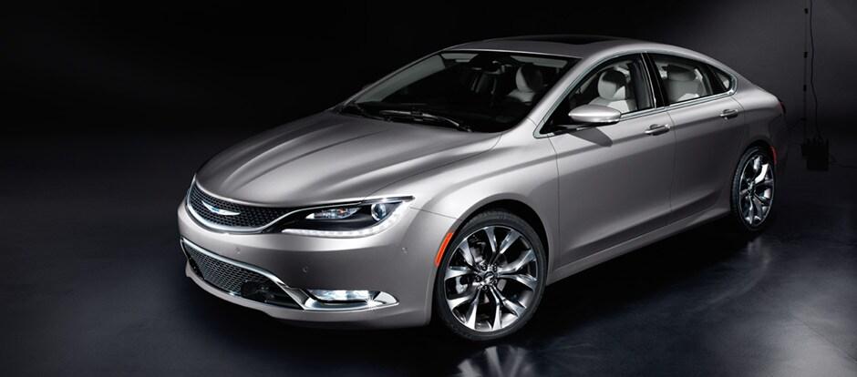 2015 Chrysler 200 Exterior Front