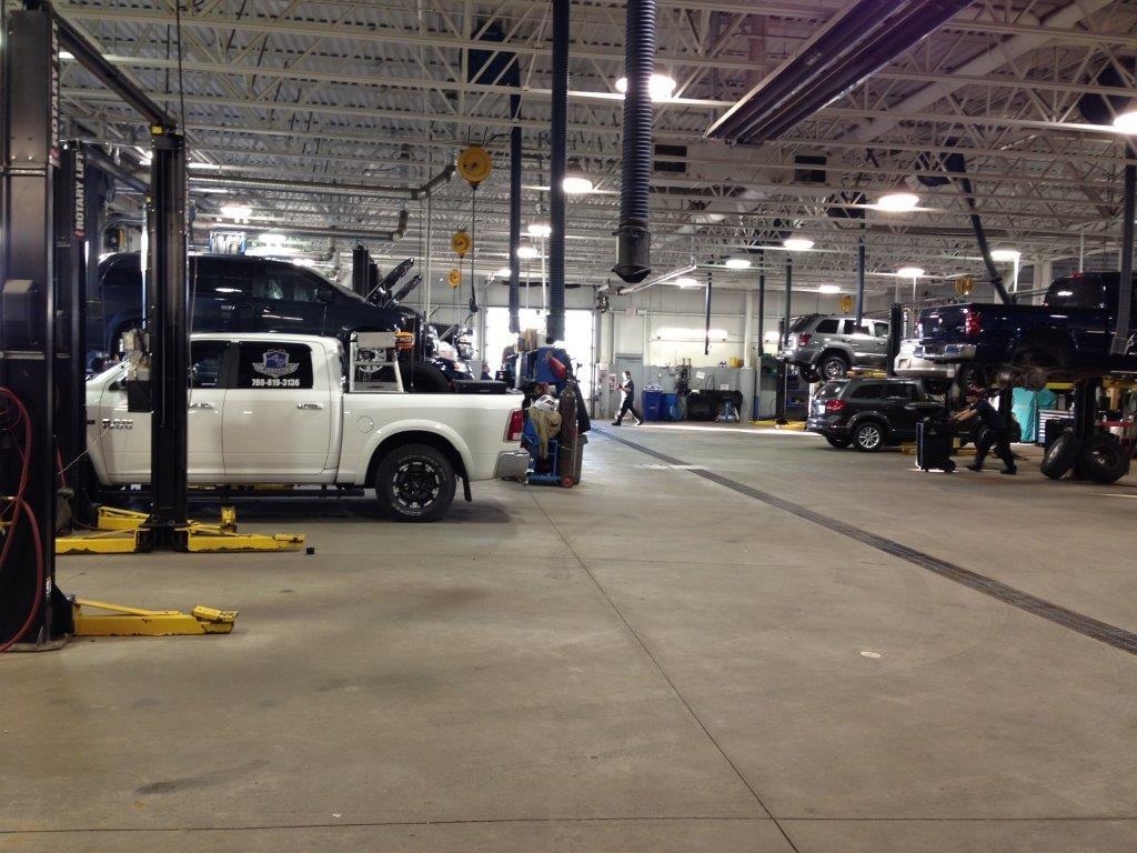 Sherwood Park Dodge Service Garage