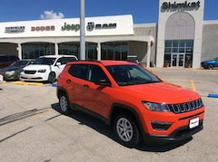 New 2018 Jeep Compass SPORT FWD Sport Utility 3C4NJCAB7JT122881 for sale in Fort Dodge, IA