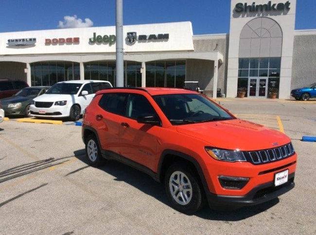 New 2018 Jeep Compass SPORT FWD Sport Utility for sale in Fort Dodge, IA