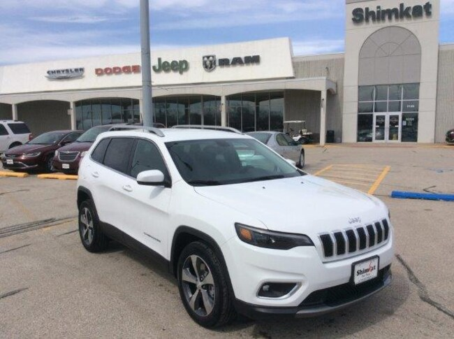 New 2019 Jeep Cherokee LIMITED FWD Sport Utility for sale in Fort Dodge, IA