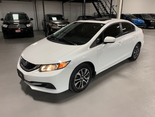 2015 Honda Civic EX|SUNROOF|AUTOMATIC|REMOTE STARTER Sedan
