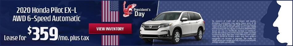 2020 Honda Pilot - February 2020