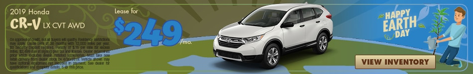 New 2019 Honda CR-V LX CVT AWD 4/4/2019