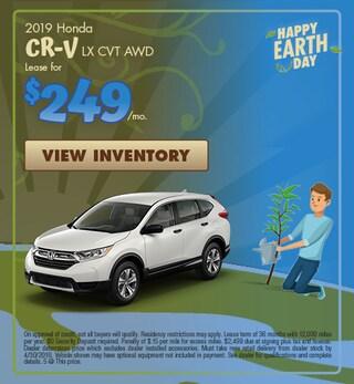 New 2019 Honda CR-V LX CVT AWD 4/4/2019