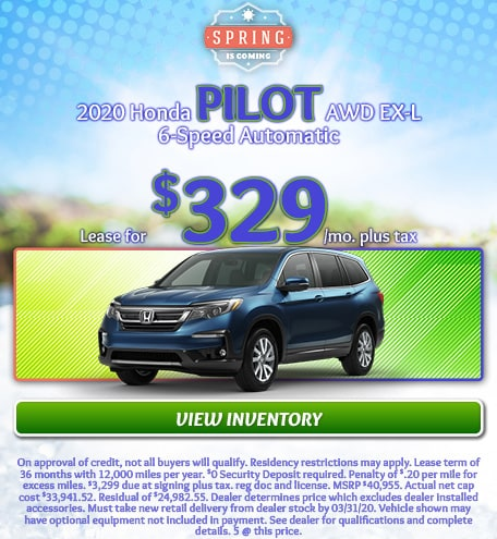2020 Honda Pilot AWD EX-L - March 2020