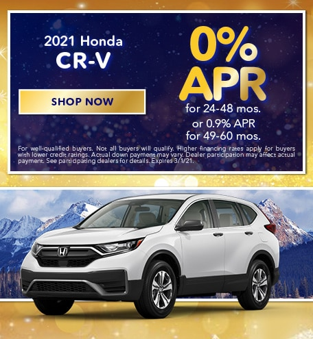 2021 Honda CR-V - January 2021