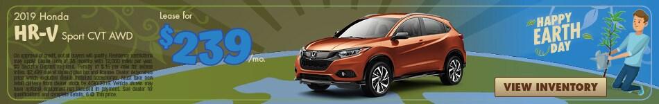 New 2019 HR-V Sport CVT AWD 4/4/2019