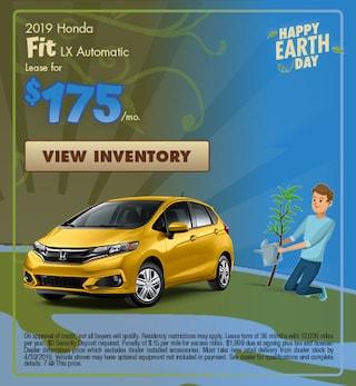 New 2019 Honda Fit LX Automatic 4/4/2019