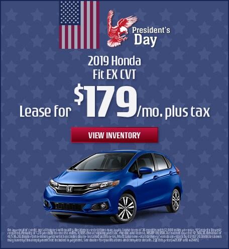 2019 Honda Fit - February 2020
