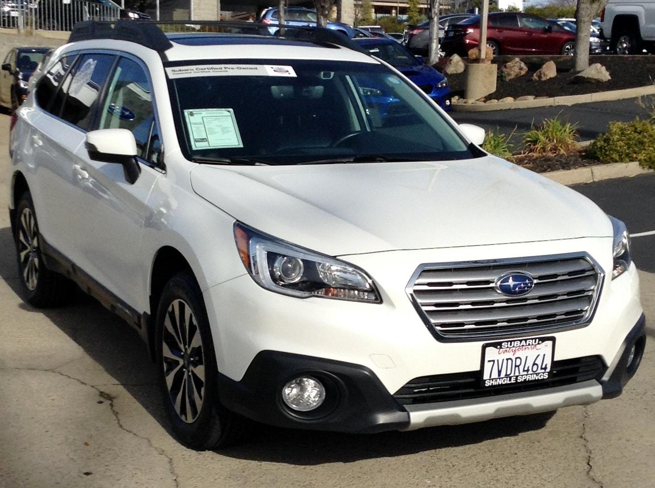 2017 Subaru Outback 3.6R Limited SUV