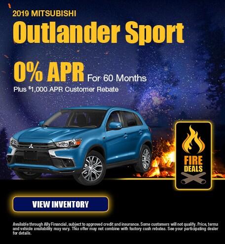 2019 Mitsubishi Outlander Sport - Finance