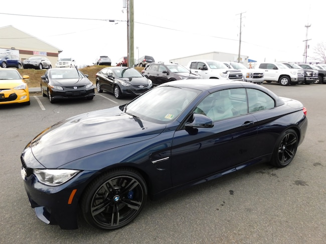 Used 2016 BMW M4 Convertible in Fredericksburg